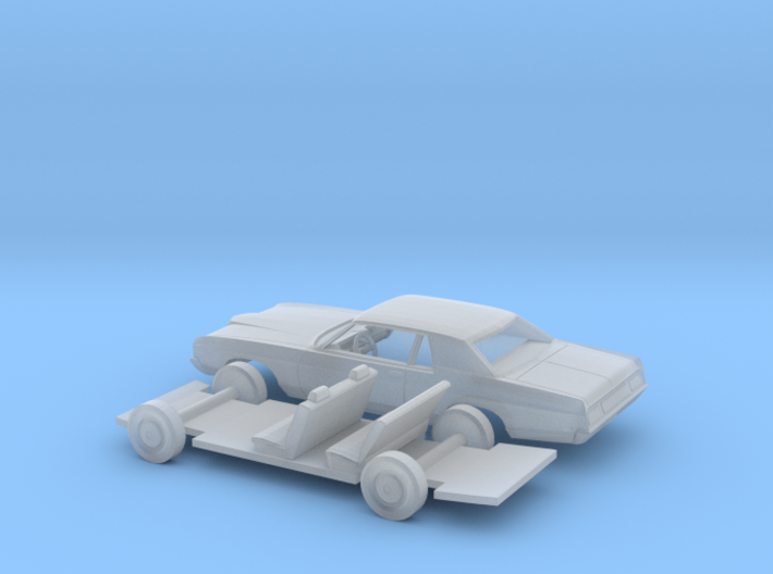 1/87 1971/72 Ford LTD Coupe Kit 3d printed