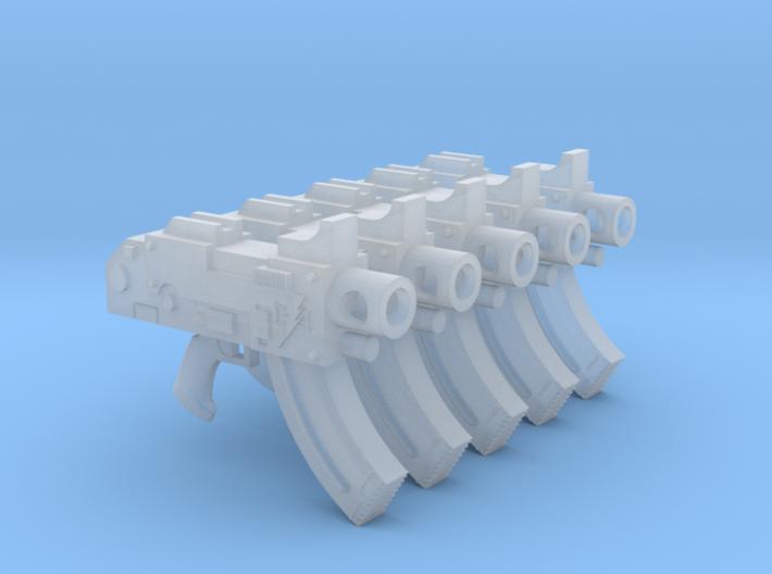 Lightning Warriors Mk87 Thunderbolt Pistols 3d printed