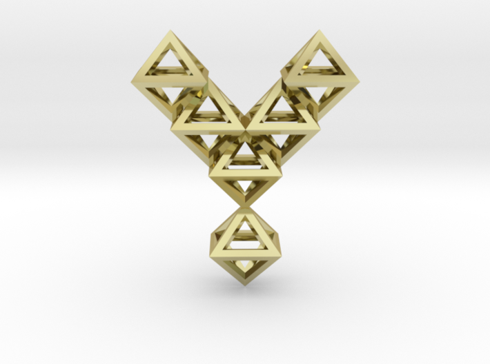 Y Letter Pendant. All Alphabet on demand. 3d printed