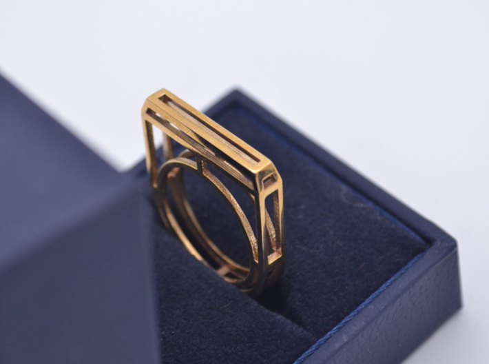 • b l o u •  Ring - Volume 4 - #2 3d printed