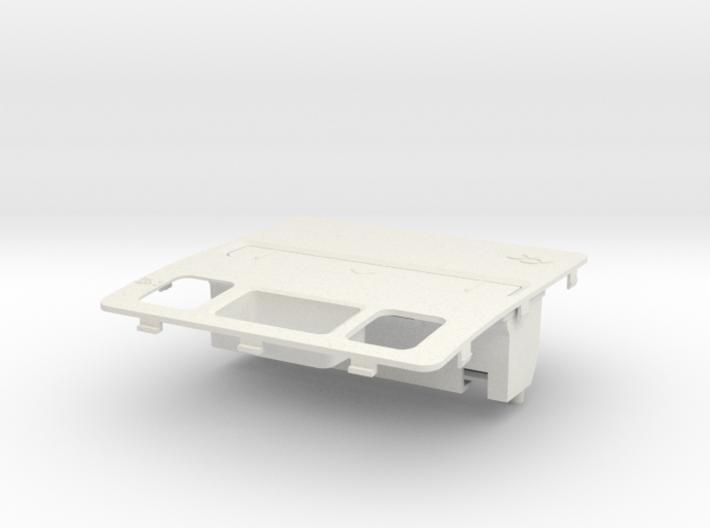 SFC-SNES Cartridge Slot Conversion 3d printed