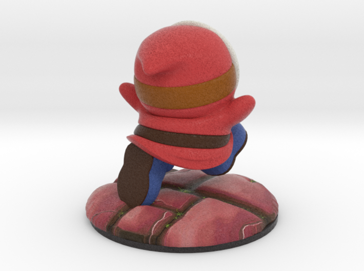 Shy Guy - Red (Bowser's Legion #1) 3d printed