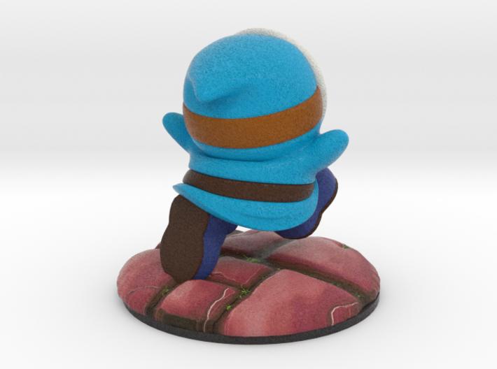 Shy Guy - Blue (Bowser's Legion #1) 3d printed