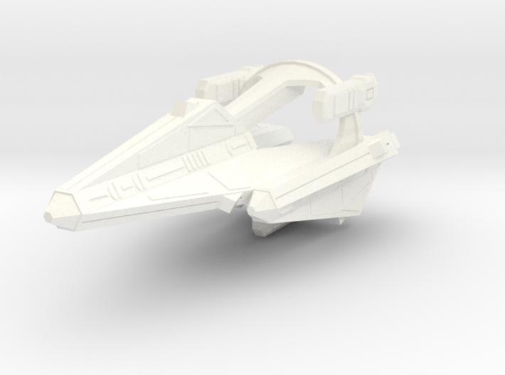 Thorlian K7 Battleship 3d printed