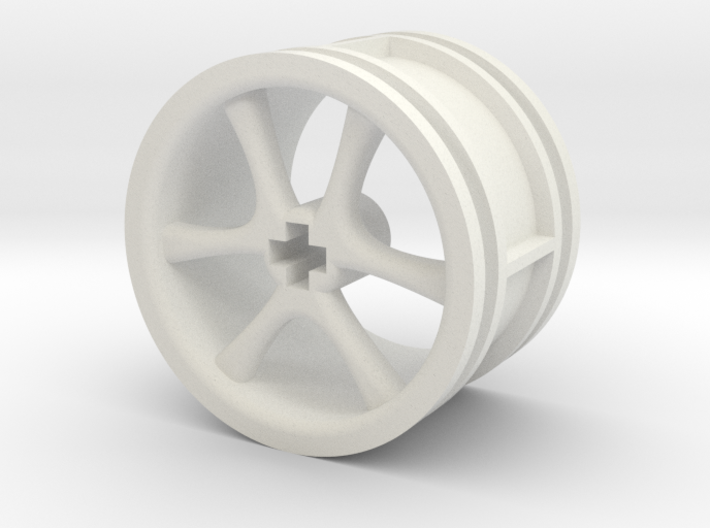 6-spoke rims 30mmØ model1 3d printed