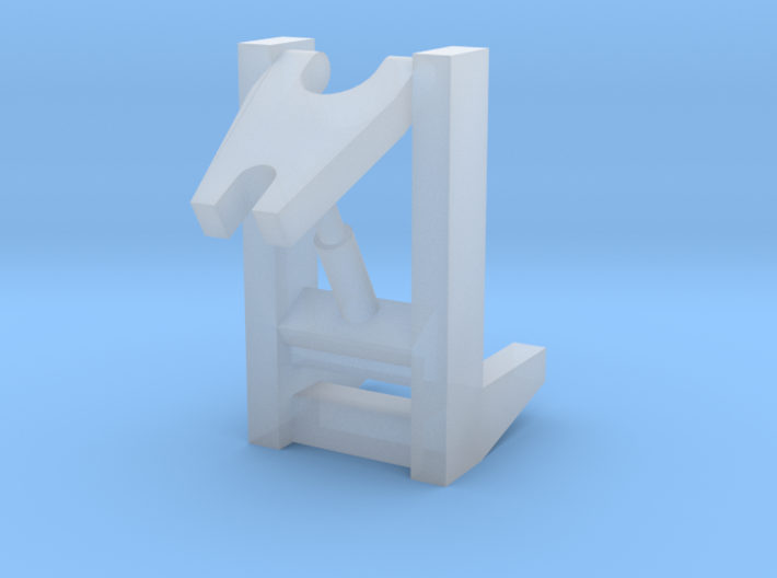 Snow Plow Hitch-Hoist 1-64 3d printed