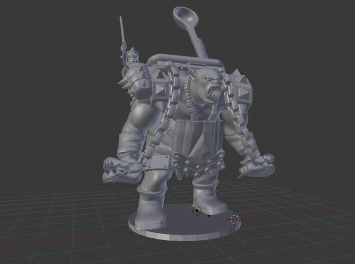 Goblin Hucker 3d printed