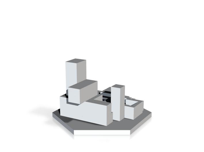 Skyscraper 3d printed