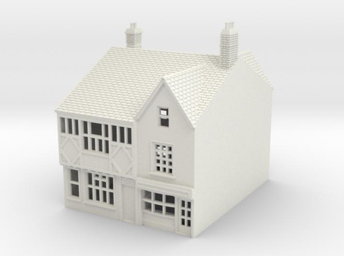 RMS-3 N Scale Rye Mint street building 1:148 3d printed