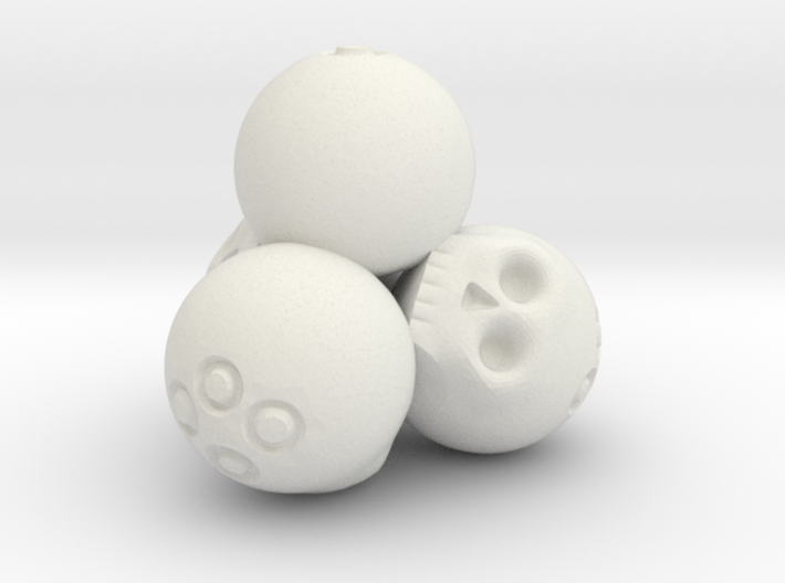 Ossuary d4 3d printed