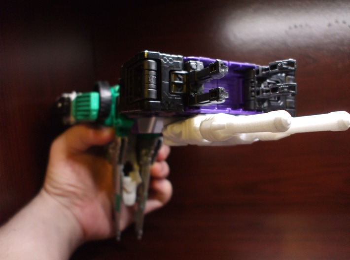 Hypersonic Concussion Blasters for TR Sixshot 3d printed