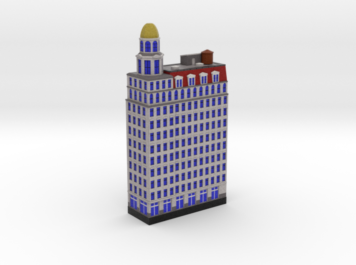 Dome building (1x2) 3d printed
