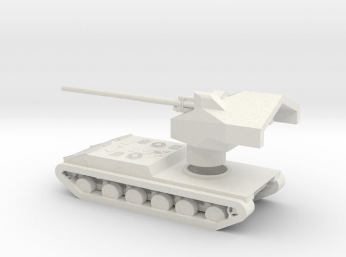 Waffenträger Auf E 100 3d printed