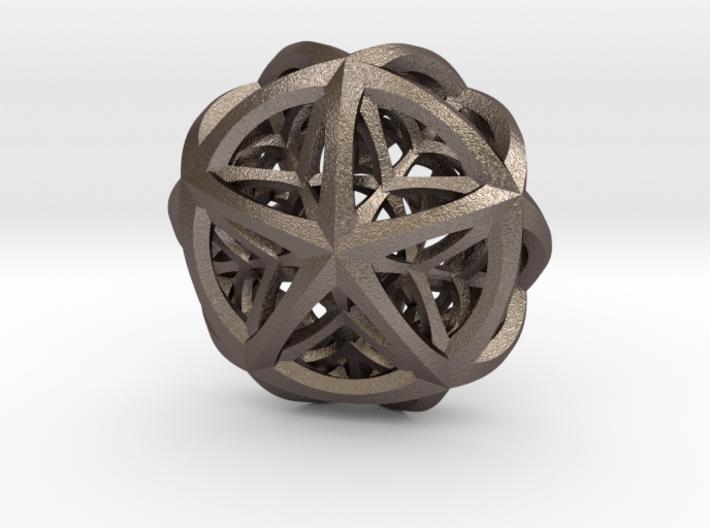 Tetraplex Pendant 3d printed
