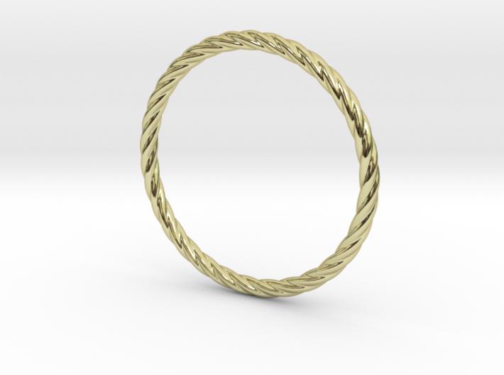 Twist Bracelet 75 3d printed