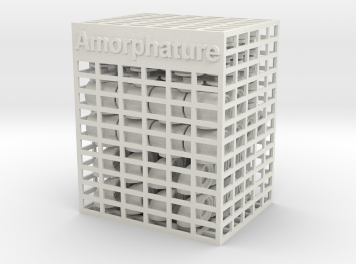 Amorphature 3d printed