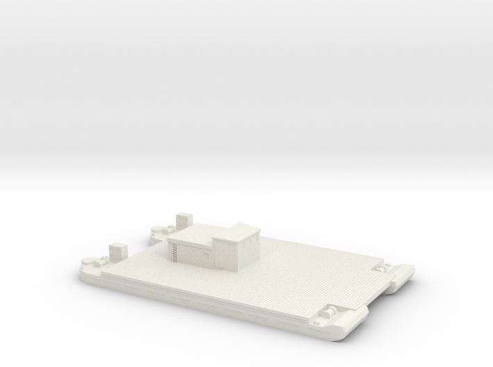 1/350 Siebel Ferry 40 with small deckhouse 3d printed