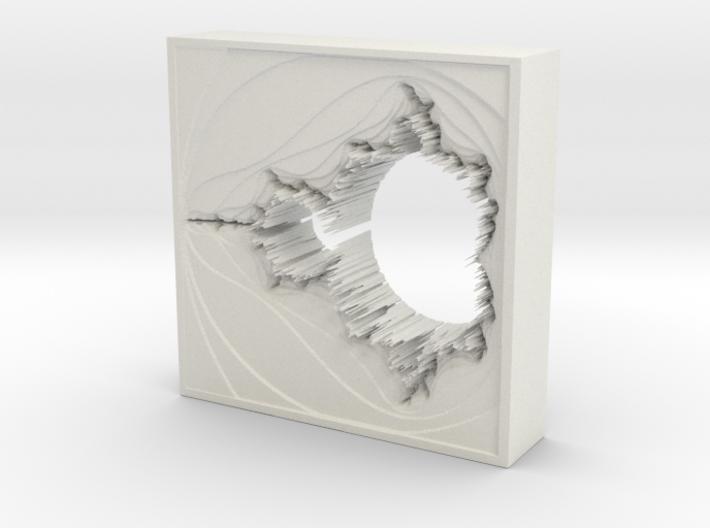Mandelbrot Vase 2 without Base 3d printed