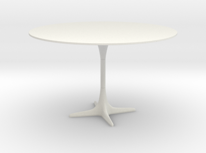 Burke Tulip Style Table w/ Propeller Base 3d printed