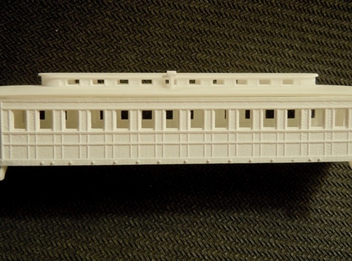 R08i N monitor roof coach, Pensy 1861, w/ int. 3d printed prototype body and roof