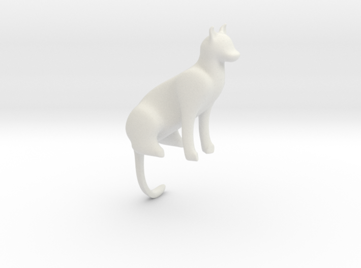 Cat Bookmark 3d printed