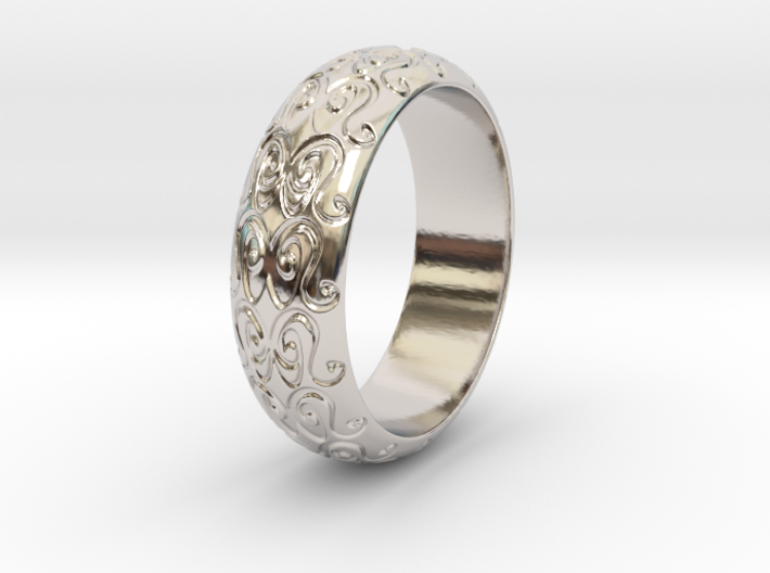 Sharon F. - Ring 3d printed Sharon F. - Ring - US 9
