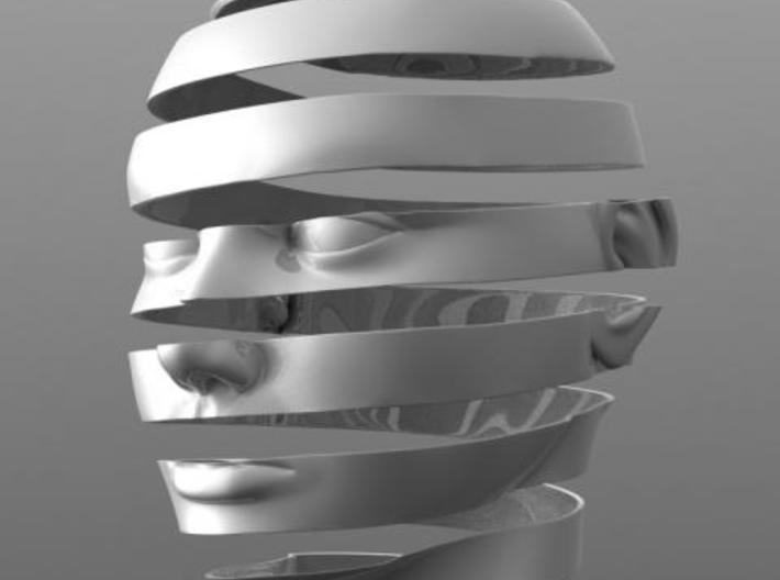 Escheresque Face peeling 3d printed