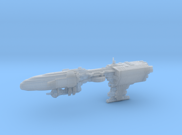Quason-E Ion Tempest (armada) 3d printed