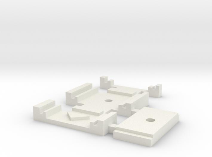 Gabarit Montage Aiguilles Kit Peco 3d printed
