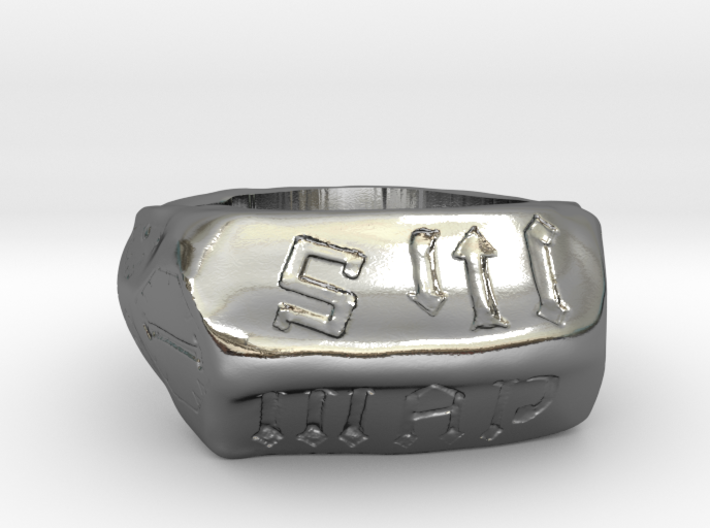 Joan Of Arc Communion Ring Replica, Size 15 3d printed