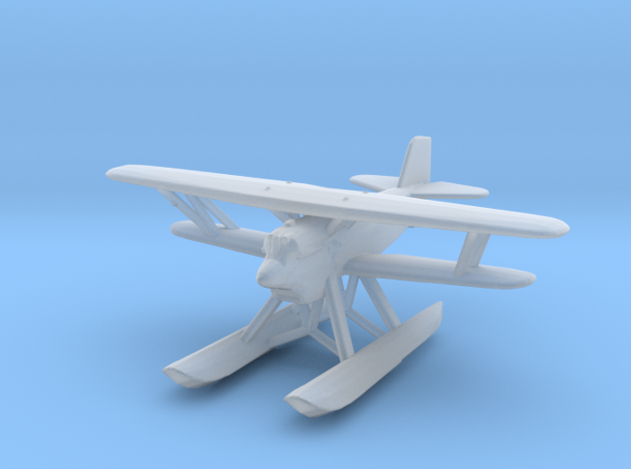 Curtiss F6C 'Hawk' (with floats) 3d printed