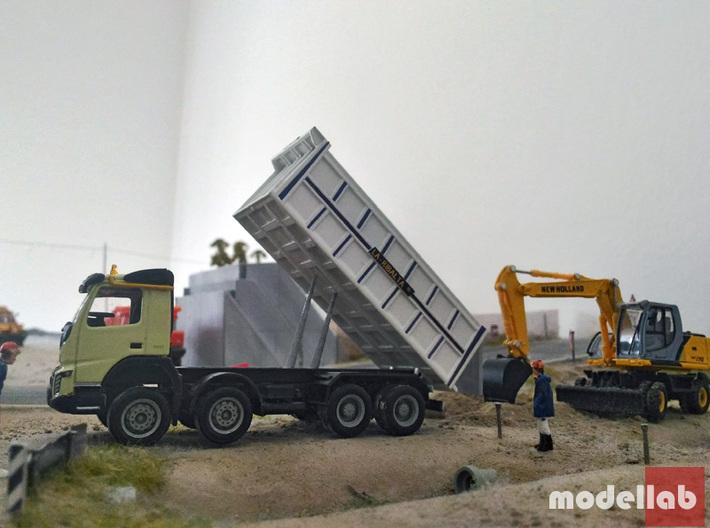 """HO - Ribaltabile posteriore """"La Ribalta"""" 8x4 - NEW 3d printed"""