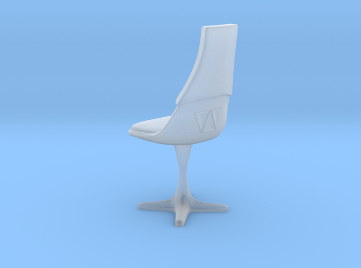 TOS Burke Chair Ver. 2 (Thin) 3d printed