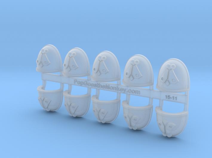 Fly - Gen4:Maximus Shoulder x10 3d printed