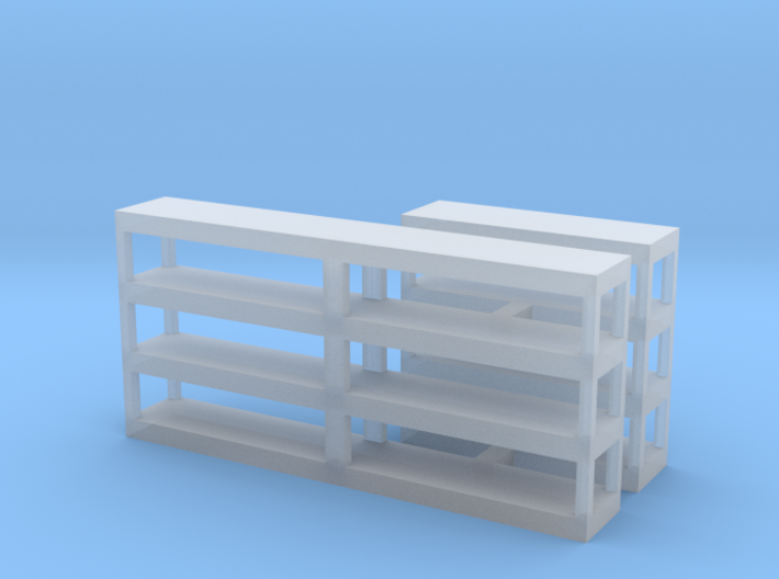 Shelving, Empty 3d printed