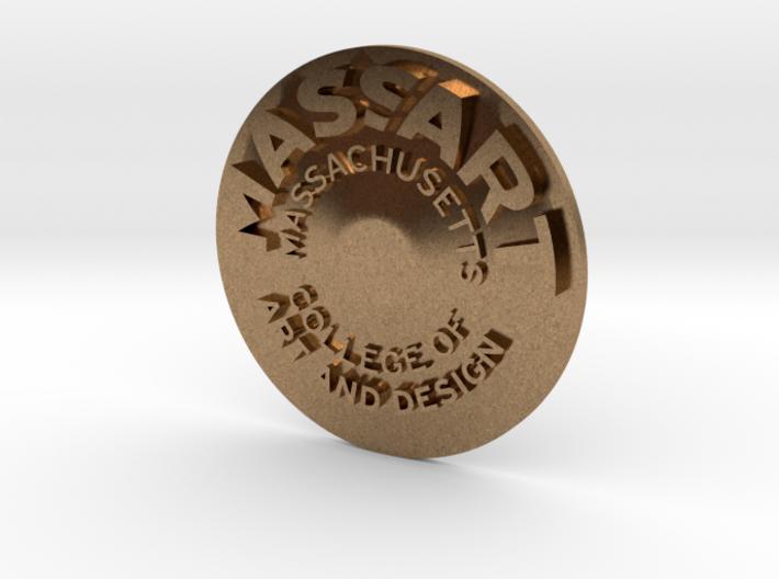 MassArt coin 3d printed