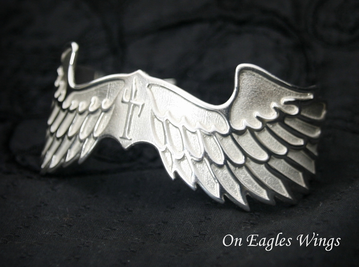 """""""On Eagles Wings"""" by Constanz 3d printed"""
