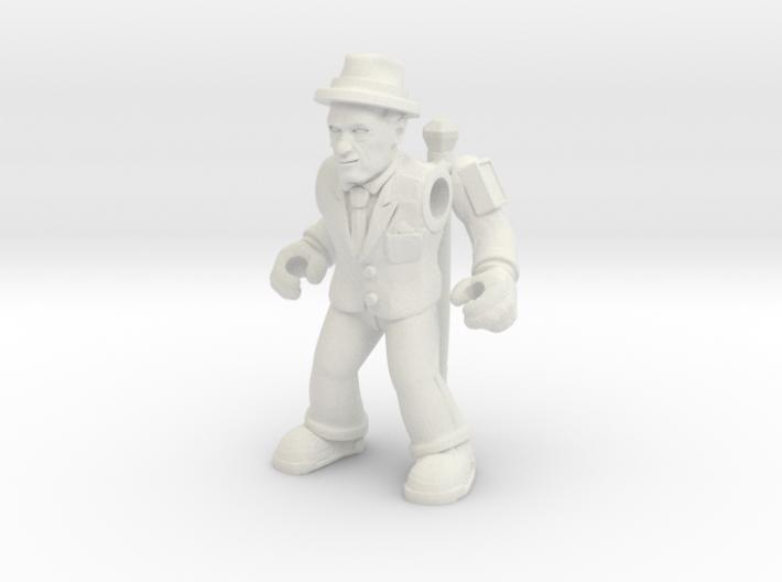 Jovial Jackal (Plastic) 3d printed