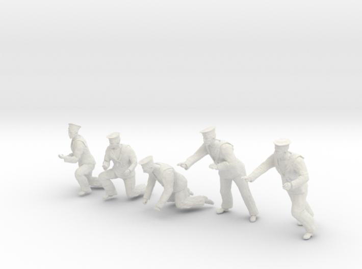 1-20 Royal Navy Sailors Set1-5 3d printed