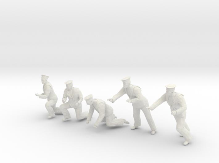 1-30 Royal Navy Sailors Set1-5 3d printed