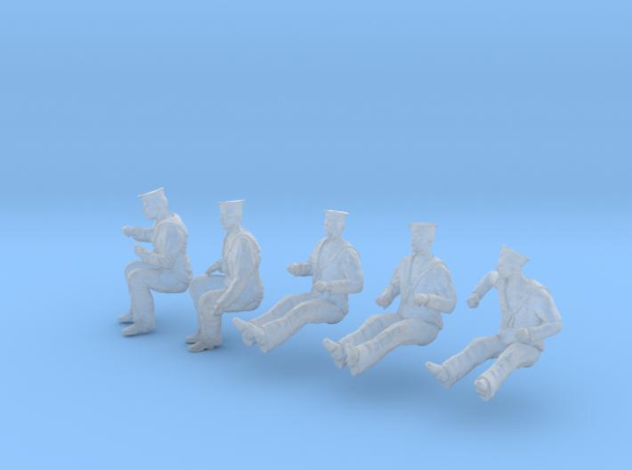 1-48 Royal Navy Sailors Set1-6 3d printed