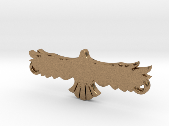Swooping Hawk™ Charm 3d printed