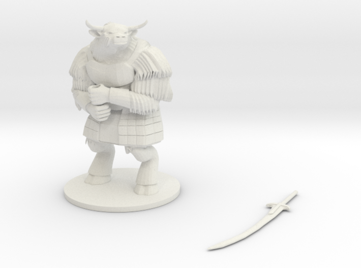 Yakfolk Warrior 3d printed