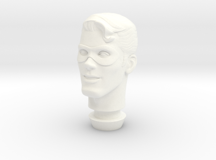 1:9 Scale The Spirit Head (no Hat) 3d printed