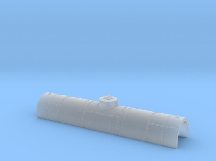 ATSF TANKCAR Tk-I, tank upper half 3d printed
