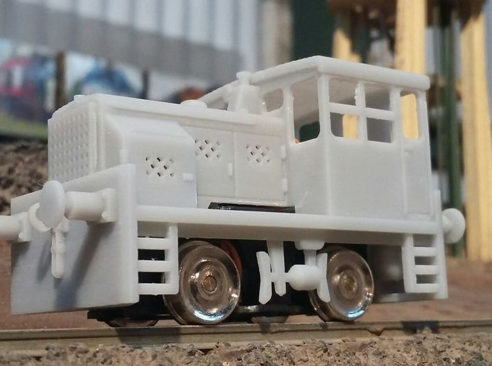 Plymouth diesel switcher 3d printed