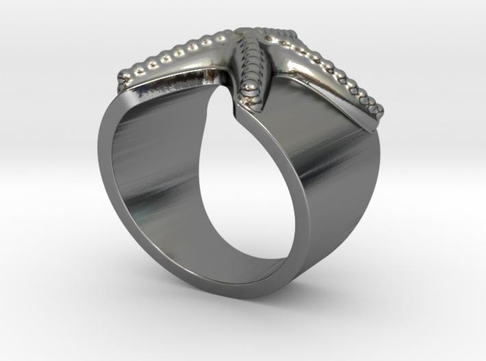 Stella Marina ring 3d printed