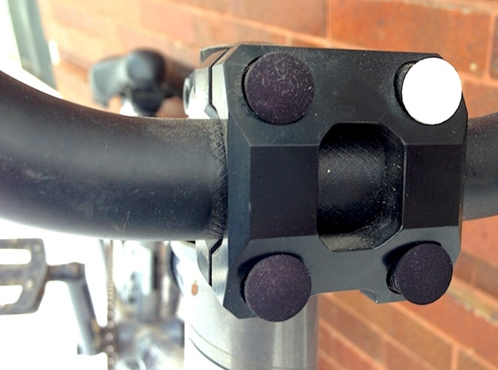 Stem Bolt Plugs for Your Bike!* 3d printed Add a white one why don't cha?
