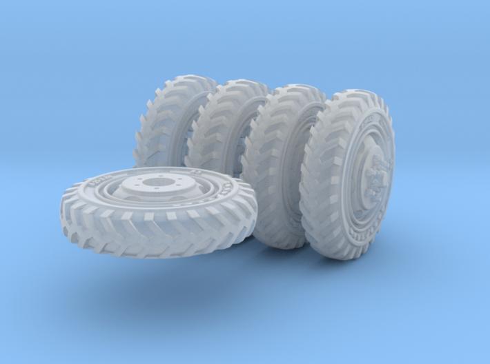 1-72 8-25x20 Early Tire Halftrack Set1 3d printed
