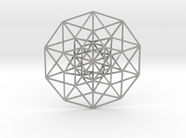 "5D Hypercube 5.5"" 3d printed"